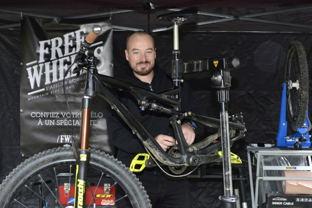 Jean-Marie Plaçais a lancé son entreprise de réparation de cycles à domicile. Depuis septembre 2015, il se déplace dans toute l'agglomération d'Angers pour réparer les petits et gros bobos de vos vélos…